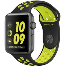 Apple Watch 2 Nike Plus 42mm Space Grey Aluminium Case with Black/Volt Nike Sport Band